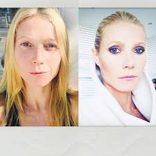 gwyneth paltrow reveals dramatic make