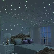 Glow In The Dark Stars Wall Stickers Glow In The Dark Stars Wall Stars Glowinthedark Starstickers Kidsbedr Dark Room Decor Kids Bedroom Walls Bedroom Decor