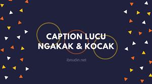 √ caption lucu instagram singkat bijak jaman now
