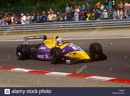 Alex Zanardi in his Formula 1 Racing car Stock Photo - Alamy