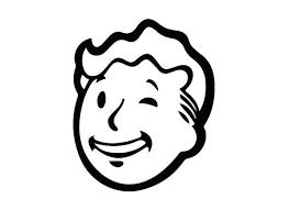 Fallout Vault Boy Wink Face Vinyl Sticker Decal Fallout Tattoo Cartoon Tattoos Pip Boy