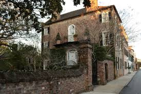 Image result for historic walled house charleston