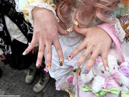 fairy kei anese decora nail s
