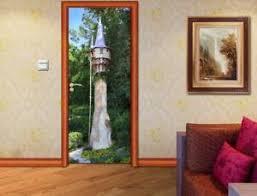 Tangled Rapunzel Tower Disney 3d Door Wrap Decal Wall Sticker Mural Art D256 Ebay