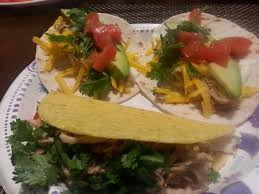 homemade en street tacos with