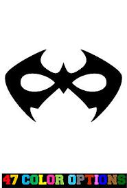 Vinyl Decal Truck Car Sticker Laptop Dc Comics Batman Nightwing Mask Ebay