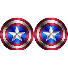 Reserved Full Color Captain America Shield Vinyl Sticker Decal 22 Home Garden Decor Decals Stickers Vinyl Art