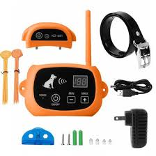 Transtar Kd 661 Wireless Dog Fence With Training Flags