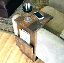 sofa arm table armrest tray organizer