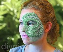 homemade reptilian fx makeup diy marta