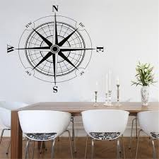 Vinyl Sticker Wind Rose Compass Wall Decal Removable Travel Geography Wall Poster Home Living Room Decoration Wall Mural Home Decor Sticker Home Decor Stickers From Onlinegame 12 48 Dhgate Com