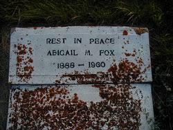 Abigail Mae (Mayme) Stewart Fox (1887-1960) - Find A Grave Memorial