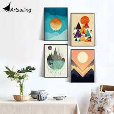 Hd Print Nordic Scandinavian Poster Picture Colorful Kids Room Decoration Pictures For Living Room Spray Poster Free Shipping Decorative Pictures Picture For Living Roomhd Prints Aliexpress