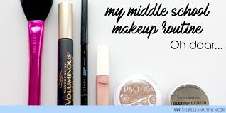my middle makeup tutorial how