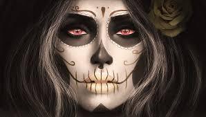 magicnaanavi santa muerte sugar skull