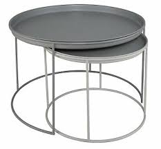 argos home finley coffee table grey