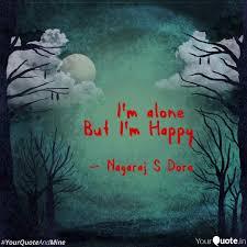 i m alone but i m happy es