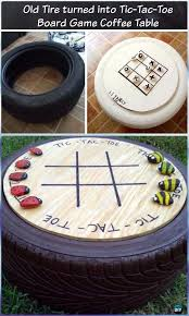 diy recycled old tire furniture ideas