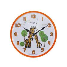 Buy Child Nursery Animal Wall Clock For Kids Room Silent Ticking 10 Inch Giraffe Wall Clcok Children Clocks Child Bedroom Decor Ideas Baby Shower Gifts For Boys Girls Mommy