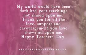 what are some quotes for teachers day quora