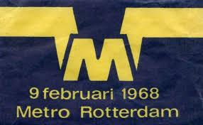 50 jaar metro in Rotterdam (RET). Een terugblik