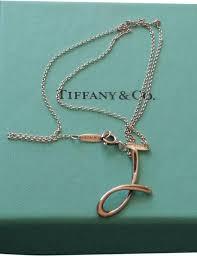 elsa peretti alphabet pendant letter j