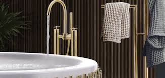 gold accented wall mirrors to enchance