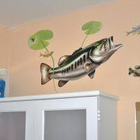 Largemouth Bass Wall Decal Bold Wall Art
