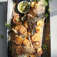 Roasted Whole Fish with Lemon & Herbs ...