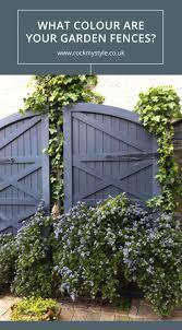 Garden Fence Colours Garden Fence Paint Backyard Fences Fence Landscaping