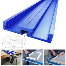 Mega Deal 3f7ff Woodworking Chute Aluminium Alloy T Tracks Model 70 T Slot And Standard Miter Track Stop Track Fence For Workbench Router Table Cicig Co