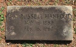 Ava Russell Hanford (1889-1967) - Find A Grave Memorial