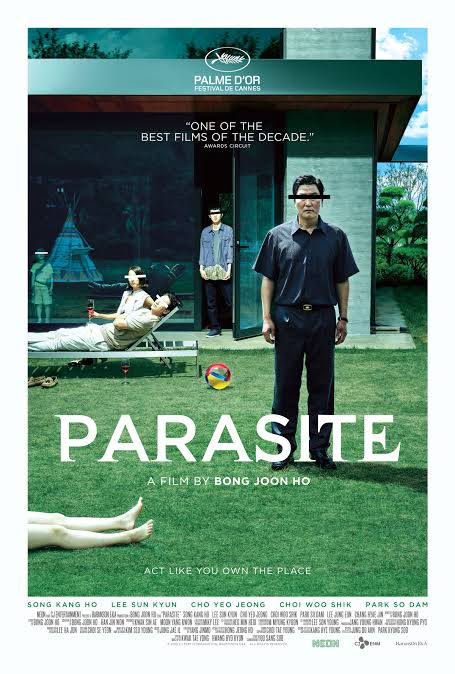 Image result for parasite movie poster""