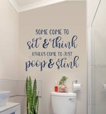 Bathroom Wall Decal Be Neat Wipe The Seat Vinyl Sticker Art Decor Quote