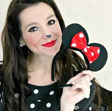 minnie mouse makeup tutorial for halloween