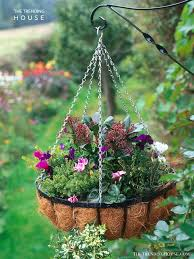 45 Charming Outdoor Hanging Planter Ideas To Brighten Your Yard The Trending House
