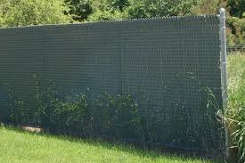 Dark Green Fence Weave For Chain Link Fence Privacy Screens Windscreens