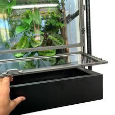 basics chameleon cage floor drainage