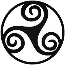 Triskelion Celtic Symbol Vinyl Decal Sticker