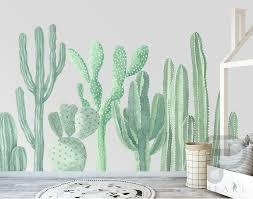 Bungalow Rose Cactus Wall Decal Wayfair