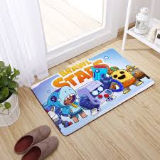 Brawl Stars Ultra Soft Indoor Modern Area Rugs Fluffy Living Room Carpets Suitable For Children Bedroom Giftcartoon