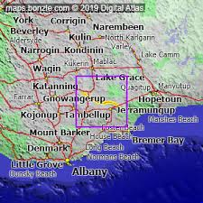 Map Of Rabbit Proof Fence Road In Western Australia Bonzle Digital Atlas Of Australia