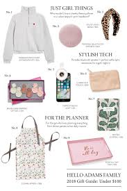 holiday gift guide under 100 o