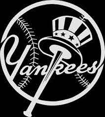 New York Yankees Retro Logo Car Decal Vinyl Sticker White 3 Sizes Ebay