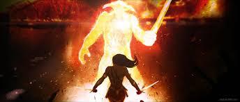 Wonder Woman contro Ares nei concept dal film - Cinefilos.it