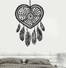 Wall Vinyl Decal Dreamcatcher Dream Catcher Ethnic Bedroom Decor Z3686 Ebay