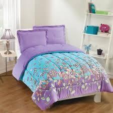 2 piece purple twin comforter set
