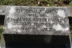 Ida Taylor Aiken (1863-1942) - Find A Grave Memorial