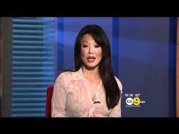 Sharon Tay 2012/04/25 KCAL9 HD; Thin white blouse - YouTube