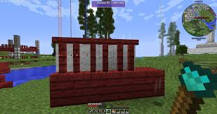 My Take On Japanese Fence Using Chisel And Bits That Is Cherry Wood From Biomes O Plenty And White Wool I Saw This Fence In An Anime Monogatari What Do You Think
